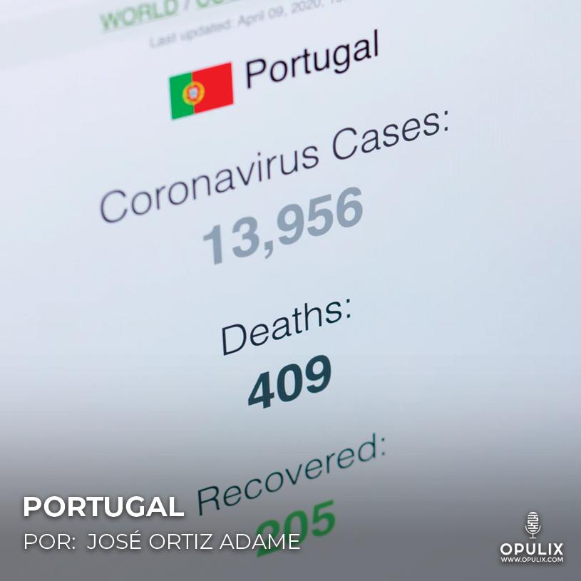 Covid Portugal @OPULIX